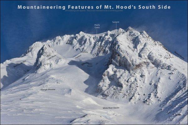 Mt. Hood South Side Route Description