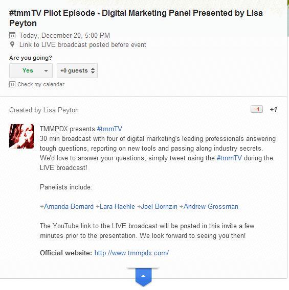 tmmTV Pilot Episode featuring Joel Bornzin