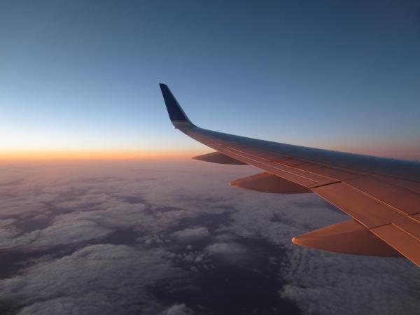 Long Flight to Germany from Newark - taken by Joel Bornzin