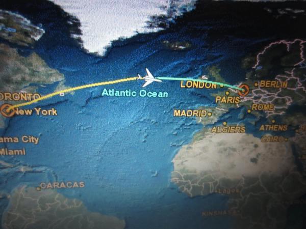 Crossing the Atlantic - 2013 - Picture taken by Joel Bornzin
