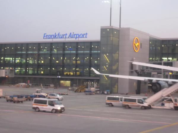 Frankfurt Airport 2013 - Picture taken by Joel Bornzin
