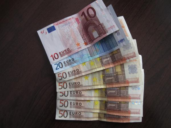 Money Exchanged. Euros Had. - Picture taken by Joel Bornzin