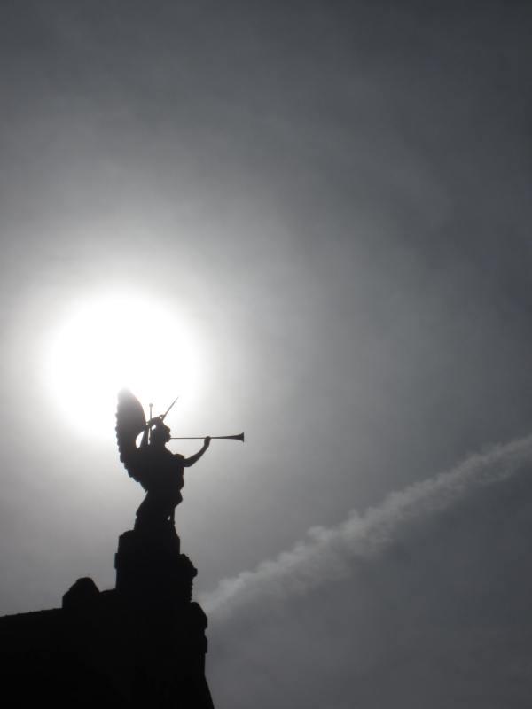 Nuremberg Trumpeting Angel - Picture taken by Joel Bornzin
