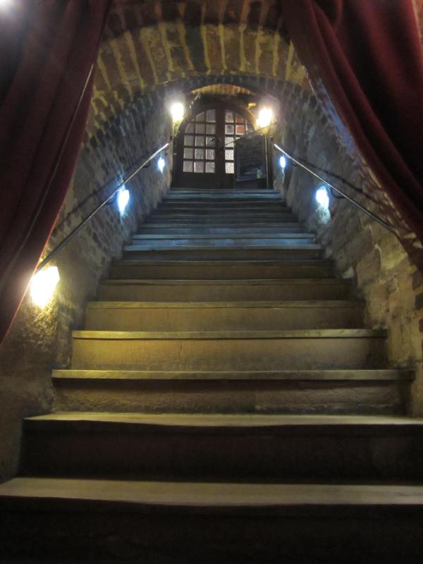 Entryway to the Nassauer Keller Restaurant - Nuremberg - Picture taken by Joel Bornzin