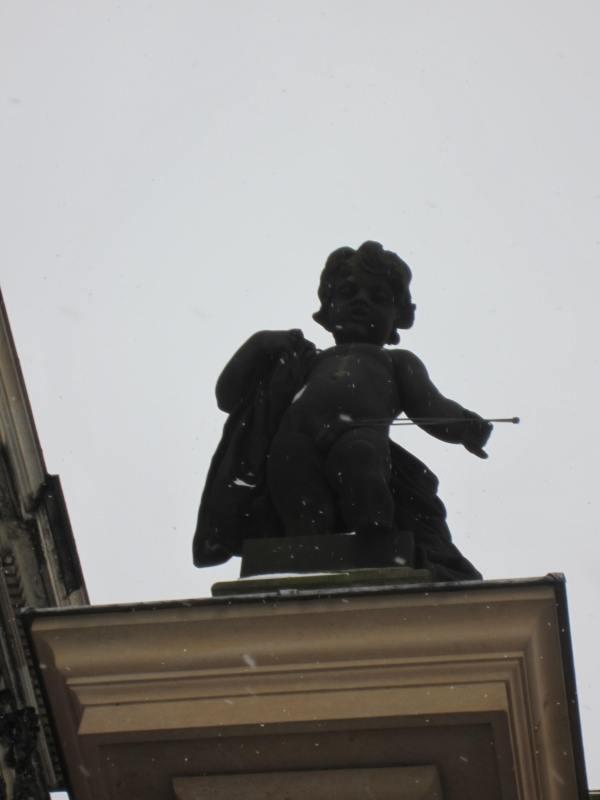 Dresden Cherub on Building - Picture taken by Joel Bornzin