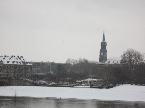 Dresden by the River - Picture taken by Joel Bornzin
