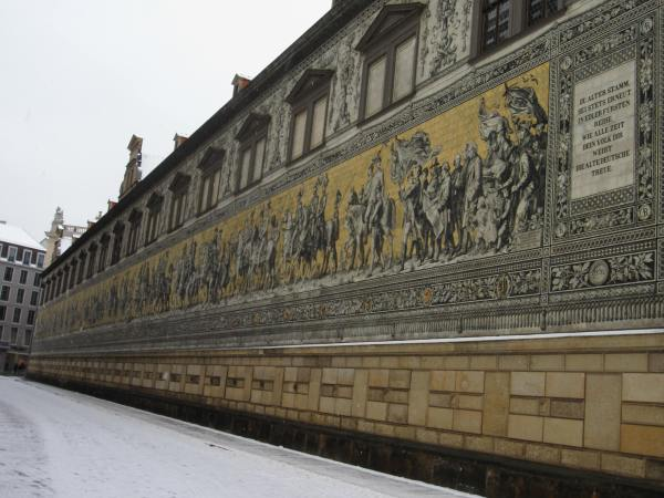 Dresden Building Painting - Picture taken by Joel Bornzin