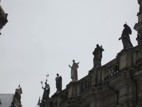Dresden Statues - Picture taken by Joel Bornzin