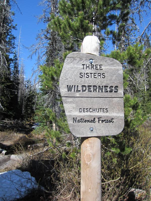 Broken Top NW Ridge Route Trail Head Picture Taken by Joel Bornzin
