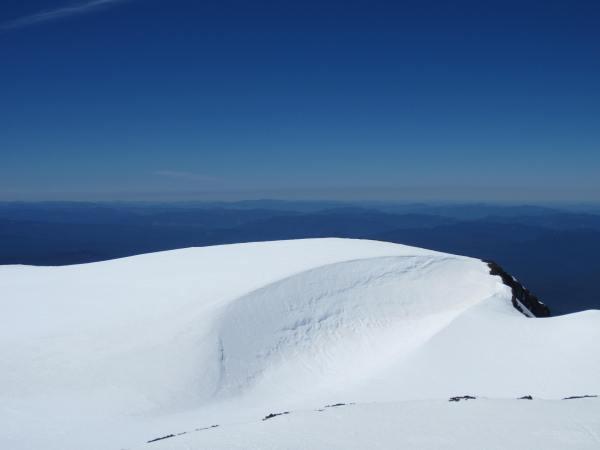 Snow Above Teardrop Pool South Sister - Picture Taken by Joel Bornzin