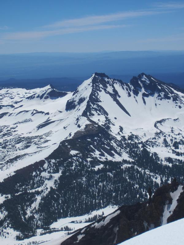 View of Broken Top NW Ridge - Picture Taken by Joel Bornzin