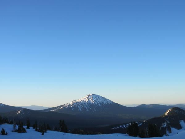 Mt. Bachelor - Picture Taken by Joel Bornzin