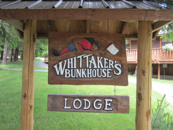 Whittaker's Bunkhouse Sign Picture Taken by Joel Bornzin