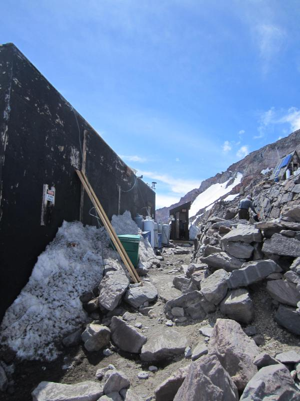 Latrine Down the Hall at Camp Muir