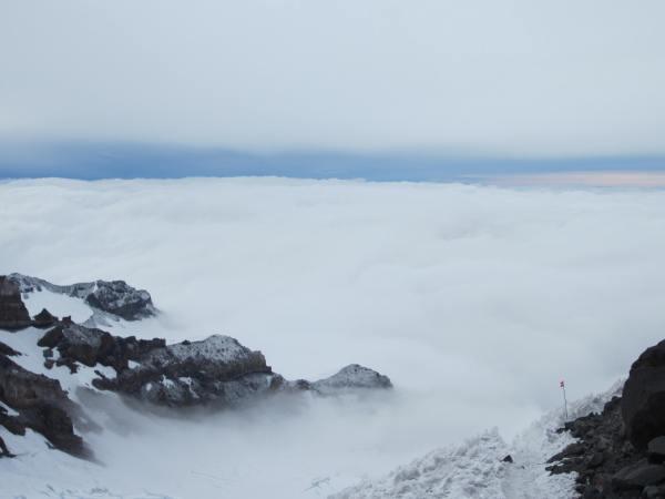 Cloud Layer at Dawn Picture Taken by Joel Bornzin