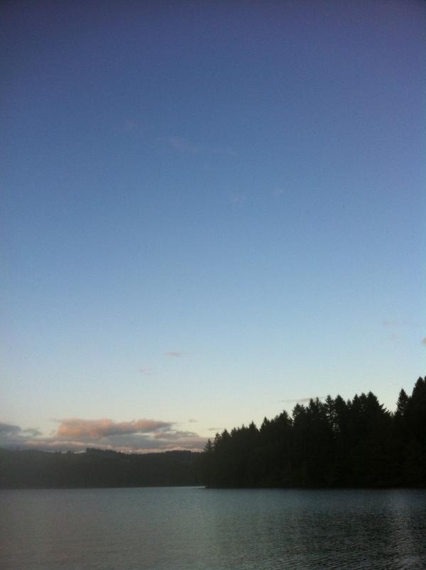@Hagg Lake Memorial Day Weekend