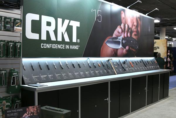 CRKT SHOT Show Booth - 2015