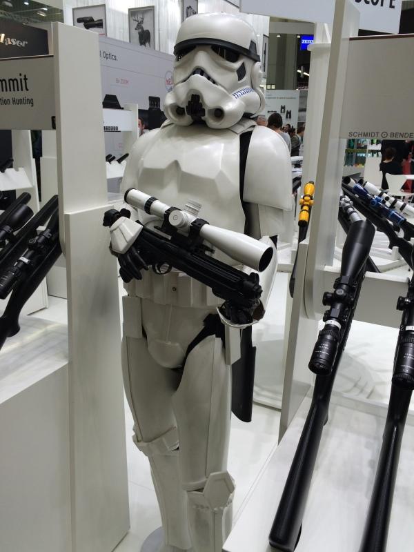 Star Wars Stormtrooper Display