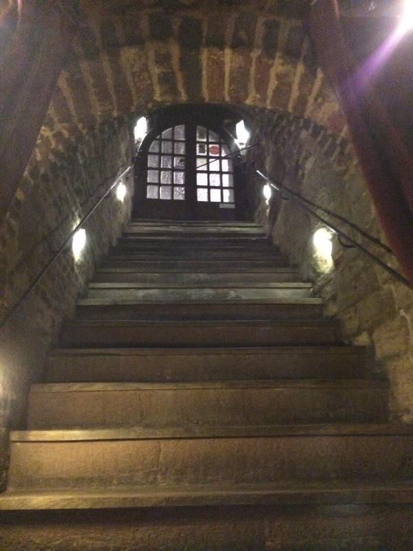 Der Nassauer Keller zu Nürnberg Stairwell