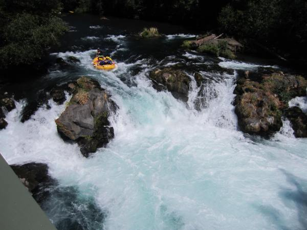 White Salmon River Drop