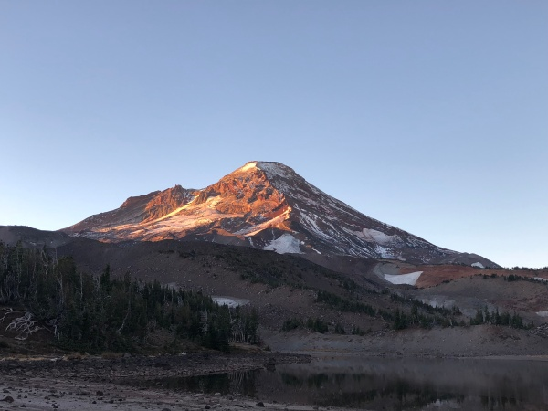 South Sister at Dawn