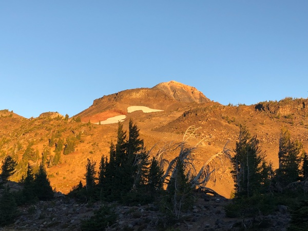Middle Sister, Camp Lake Trail at Dawn