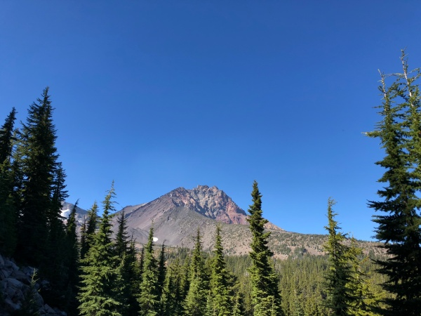 North Sister, October 2018 - Camp Lake Trail 4074 – Three Sisters Wilderness, Oregon