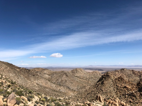 Boy Scout Trail to Willow Hole - Wonderland of Rocks - May 2019